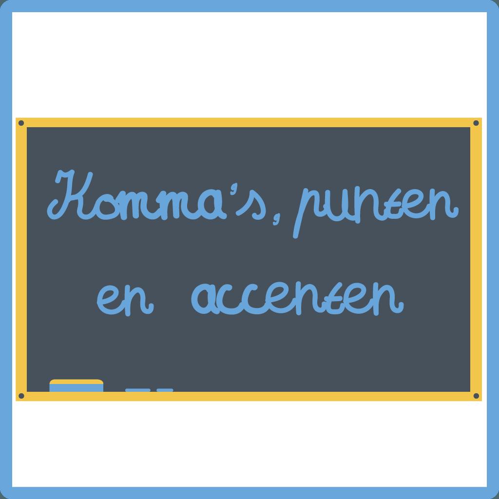 Cursus Nederlands - komma's, punten en accenten