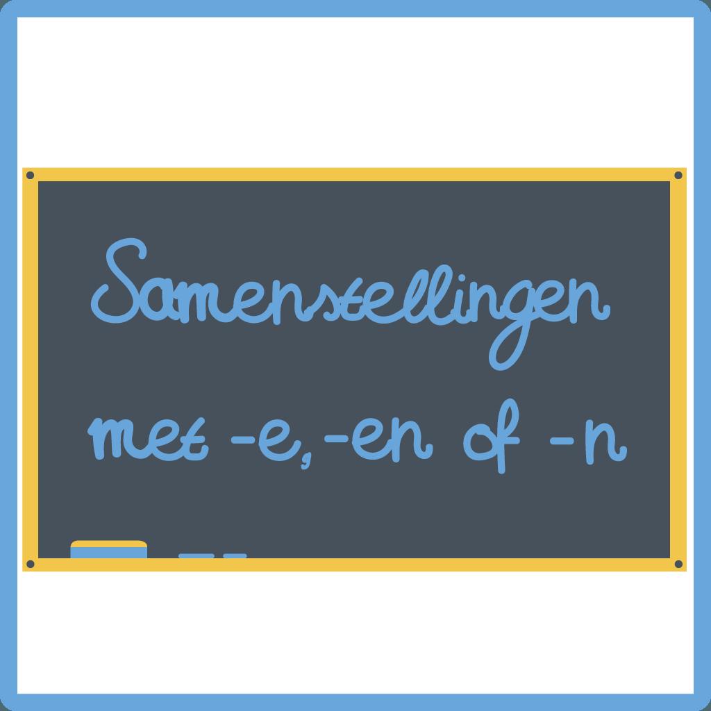 Cursus Nederlands - samenstellingen met -e, -en of -n