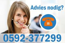 Advies nodig? Bel 0592-377299